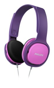 HEADPHONE KIDS ROXO