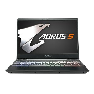 "NOTEBOOK AORUS 5 15.6"" I7 9TH GTX1650 8GB M2-256GB HD-1TB W10H"