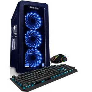 PC GIGAPRO GAMER I709 M16 SSD256GB NV270 C-AN2 W10 KM-B
