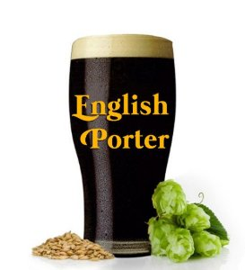 KIT INSUMOS ENGLISH PORTER
