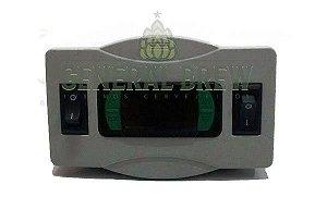 CONTROLADOR DE TEMPERATURA MONTADO - FULL GAUGE MT516E - 2 ESTÁGIOS