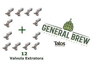 Kit 12 extratora Talos