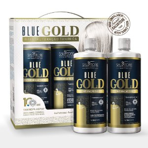 Blue Gold  - Salvatore Cosméticos Passo 1 e 2 - 1L