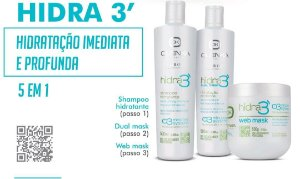 Kit Hidra 3 - Olenka - 3 passos