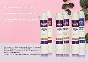 Kit Reconstrutor Capilar G20 1 L + Shampoo 1 L