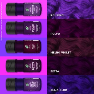 Kamaleão Color - 150ml - Roxos