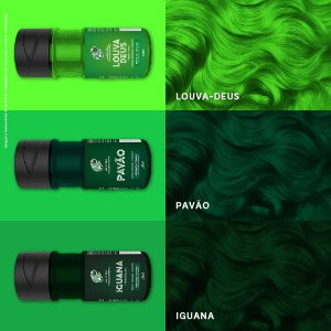 Kamaleão Color - 150ml - Verdes e Amarelos