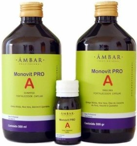 Kit Monovit Pro A -  500ml - Original - Âmbar