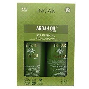 DUO SH+ CONDI ARGAN INOAR 250ML