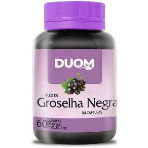 Groselha Negra 500mg 60caps Duom