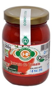 Extrato de Tomate Organico 260g HF Carraro
