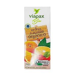 Néctar de Laranja e Acerola Orgânico 200ml