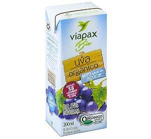 Nectar de Uva Organico 200ml Sem Adicao de Acucar Viapaxbio