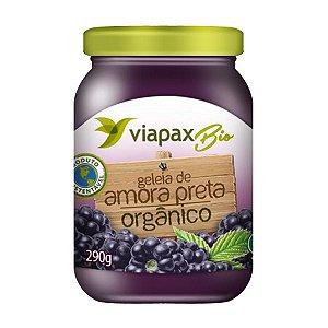 Geleia de Amora Preta Organica Light 290g Viapaxbio