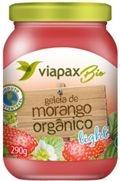 Geleia de Morango Organico Light 290g Viapaxbio