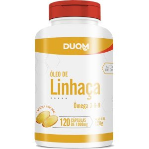 Oleo de Linhaca 1000mg 120caps Duom