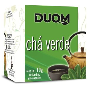 Cha Verde 10 saches Duom