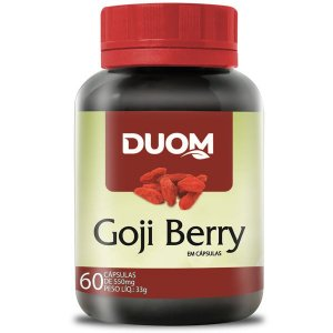 Goji Berry 500mg 60caps Duom
