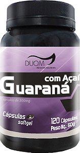 Guarana com Acai 500mg 120caps Duom