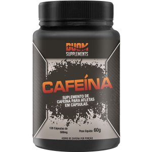 Cafeína 500mg - 120 caps Duom Supplements