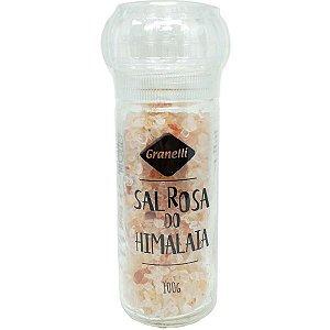 Moedor Sal Rosa do Himalaia 100g Granelli