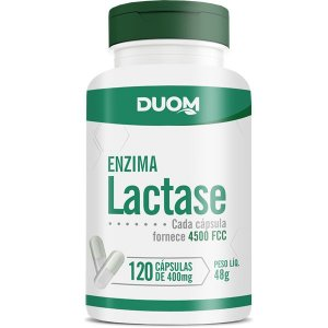 Lactase (Enzima) 400mg - 120caps Duom