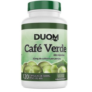 Cafe Verde 500mg 120caps Duom