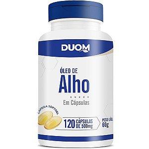 Oleo de Alho 500mg 120caps Duom