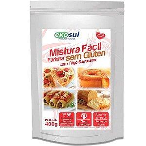 Mistura Facil Farinha com Trigo Sarraceno 400g