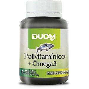 Polivitaminico com Ômega 3 60caps Duom