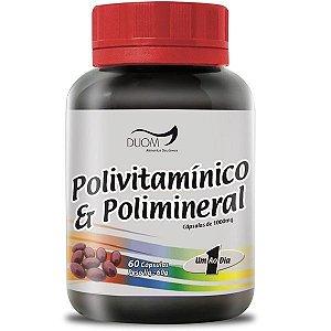 Polivitaminico e Polimineral (1 ao dia) 60caps Duom