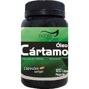 Óleo de Cártamo com Vitamina E 1000mg 60 ou 120 cápsulas