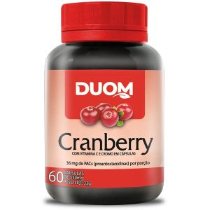 Cranberry 550mg  60caps Duom