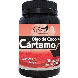 Óleo de Cártamo + Óleo de Coco 1000mg 60 ou 120 cápsulas