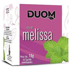 Cha de Melissa 10 saches Duom