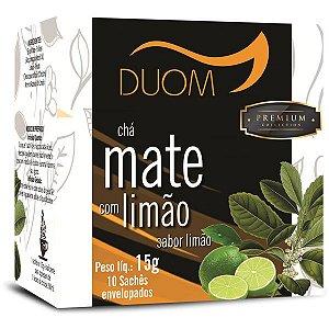 Cha Mate com Limao Premium 10 saches Duom