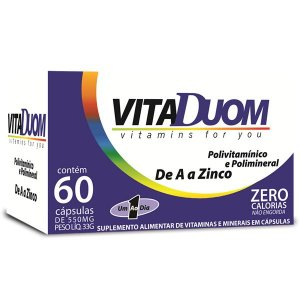 VitaDuom Polivitaminico e Polimineral (1 ao dia) 60caps Duom