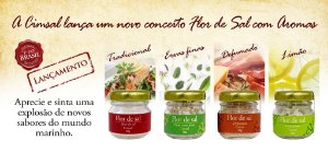 Flor de Sal - Quarteto de sabores 4x30g Cimsal