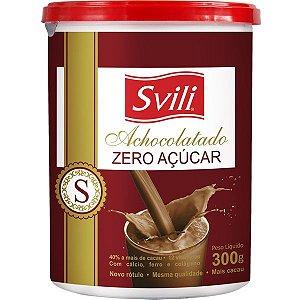 Achocolatado Zero Acucar 300g Svili