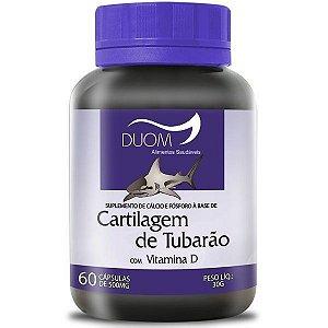 Cartilagem de Tubarao com Vitamina D 60caps Duom