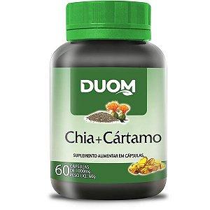 Oleo de Chia + Cartamo 1000mg 60caps Duom