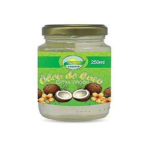 Oleo de Coco Extra Virgem 250ml Nutrigold