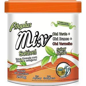 Cha Soluvel Mix (Cha Verde + Cha Branco + Cha Vermelho) Fitoplus 200g