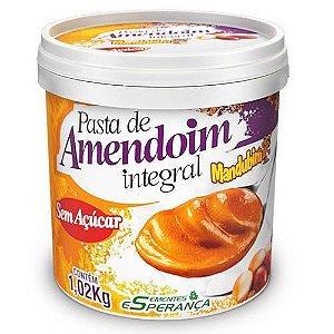 Pasta de Amendoim Integral 1 Kg Mandubim