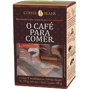 Coffee Beans Sortido 10g Display 9un