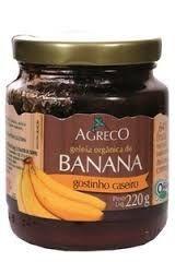 Geléia de Banana Orgânica  220g