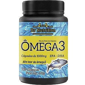 Omega 3 Dr Nutrition 1000mg 120caps -  VENCIMENTO 06/2021