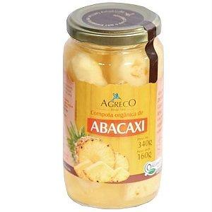 Compota Orgânica de Abacaxi 160g