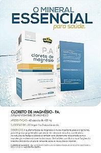 Cloreto de Magnésio 60 cápsulas 400mg