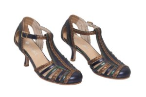 Sapato Croácia Azul Marinho